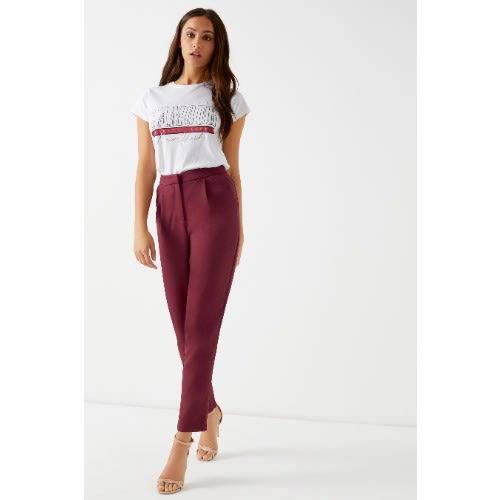 59c287a1f692b4 Missguided Pleat Front Cigarette Trousers | Konga Online Shopping