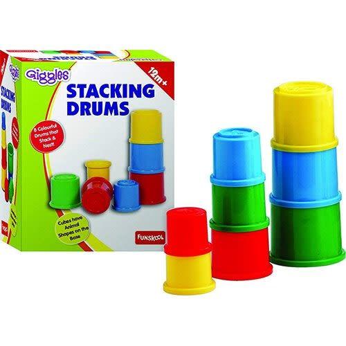 Stacking Drums.