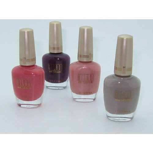 Nail Lacquer - 4 Pack - Various Colors.