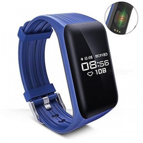 Wearfit Smart Bracelet Heart Rate & Fitness Tracker - Navy