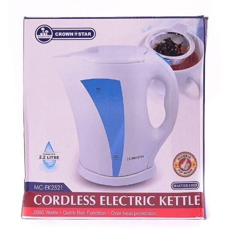 Cordless Electric Kettle - 2.2L