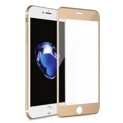 brand new df445 4a1f9 Tempered Glass Screen Protector For iPhone 6S Plus - Gold