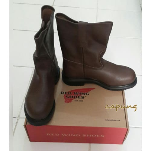5d30e50e68af3 Red Wings Workers Safety Shoes - Brown