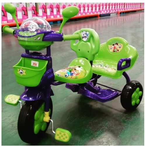 Happy Family Baby Tricycle With Double Seat | Konga Online Shopping
