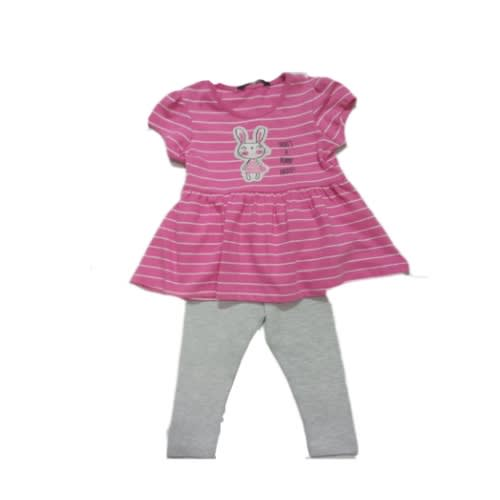 a17d4abec George 2pc George Stripe Bunny Top With Pant | Konga Online Shopping