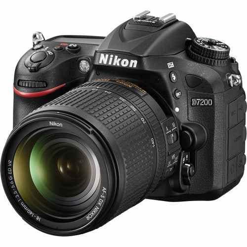 D7200 Profesional Camera 18-140mm Lens