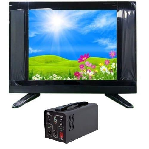 "22"" LED AC DC TV + Solar Inverter"