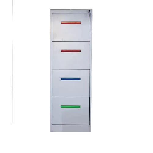 Cassia Multicolor Metal Office File Cabinet
