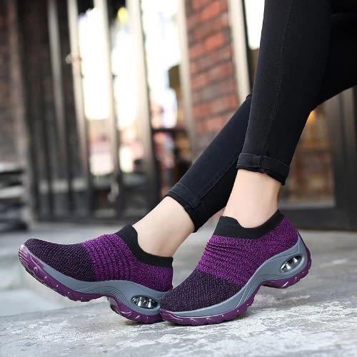 Women's Dance Sneakers - Purple   Konga