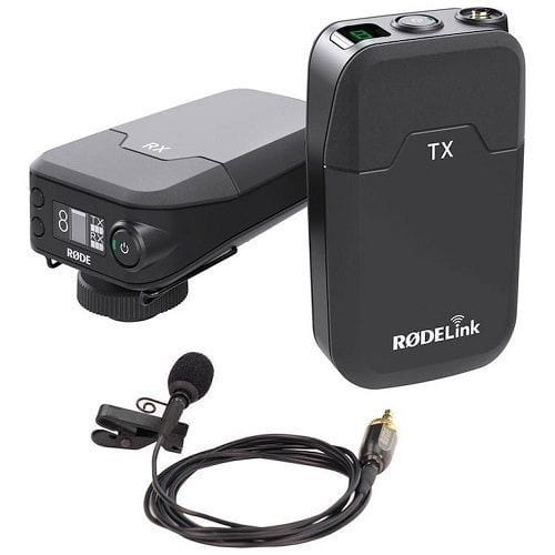 FM Wireless Lapel Clip Mic System