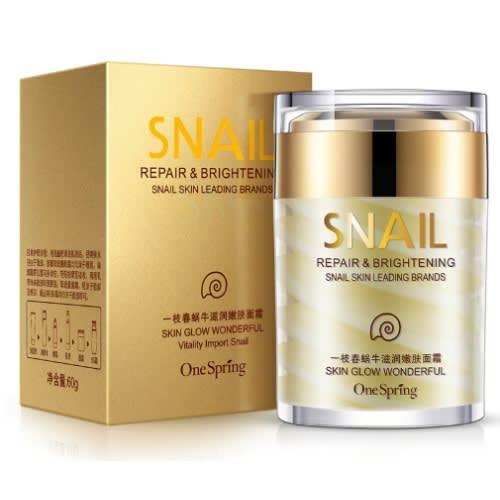 Korean Beauty Snail Cream - Anti Aging And Anti Wrinkle Moisturizing Cream  - 60ml