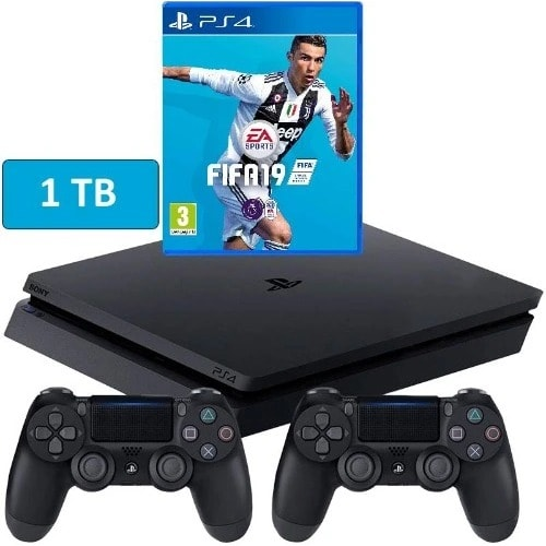 91ffc19ee Sony Playstation 4 1tb Console With Fifa 19 & Controller | Konga ...