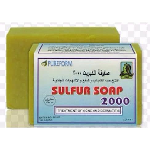 Sulfur Treatment Soap 2pcs