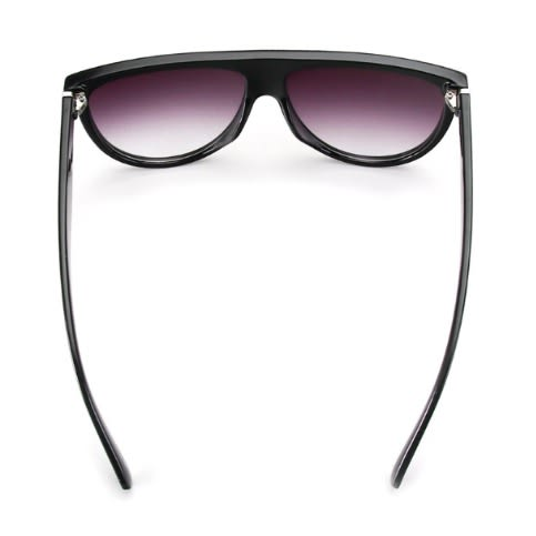 437ea41cd544 Oversized Square Flat Top Sunglasses- Black | Konga Online Shopping
