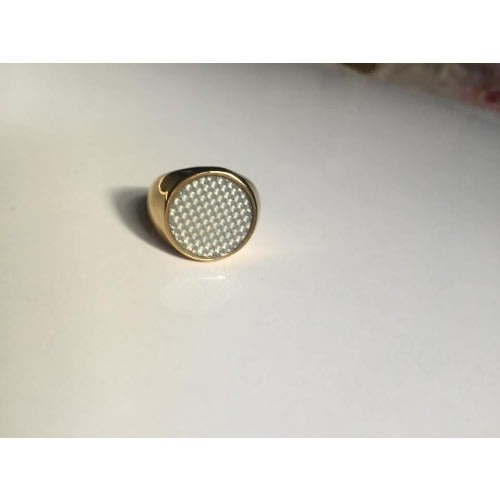 Men's Luxury Pinky Finger Ring- Gold