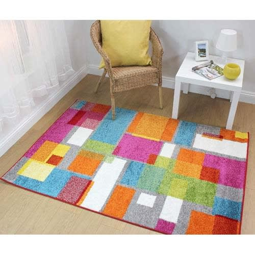 Centre Rug - Multicolour - 120 x 170cm