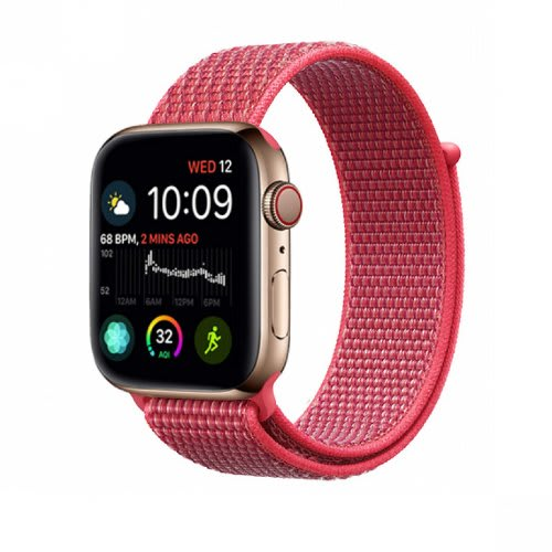 undefeated x uk cheap sale low price sale Reflective Nylon Sport Loop Replacement Strap For iWatch - Nike Series 4  44mm 40mm