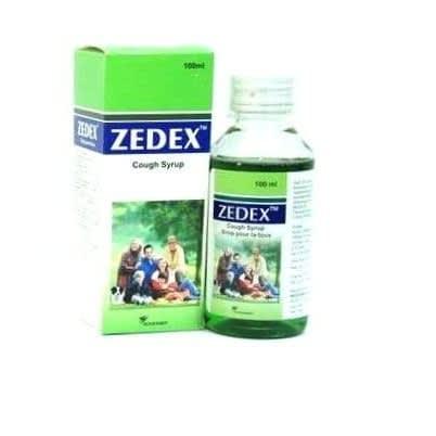 Zedex Cough Syrup - 100ml.