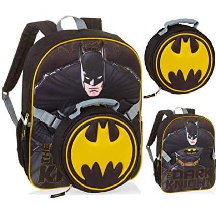 7cce779d169 Batman Backpack With Lunchbox | Konga Online Shopping