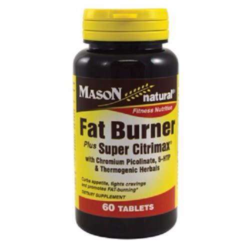 Fat Burner Plus Super Citrimax Chromium 60 Tablets