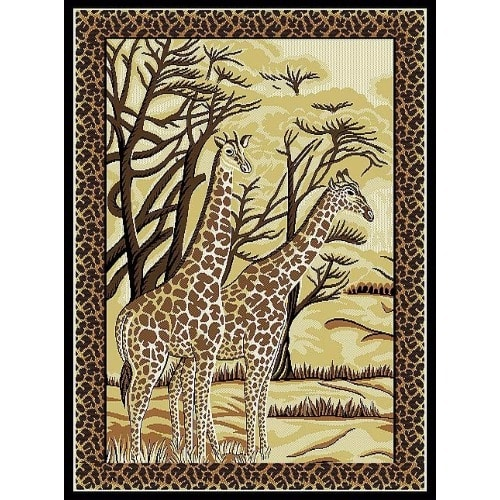 /F/e/Feather-Centre-Rug---5ftx7ft---Brown-6149949.jpg