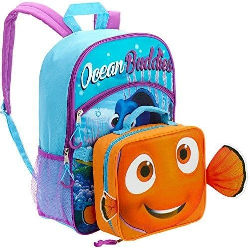 8a8d40d50e7 Finding Nemo Backpack   Lunch Box - Multicolour