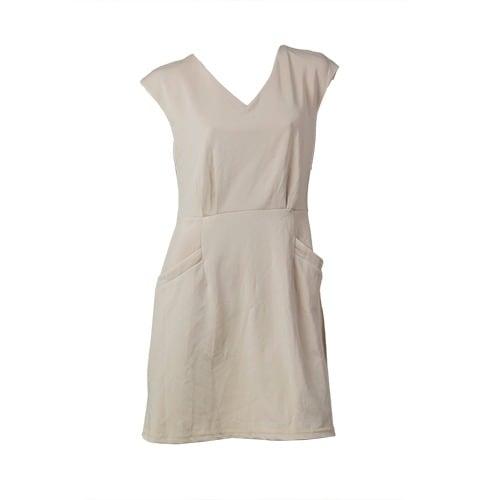 /F/i/Fitted-V-neck-Mini-Gown---Beige-6099087_1.jpg