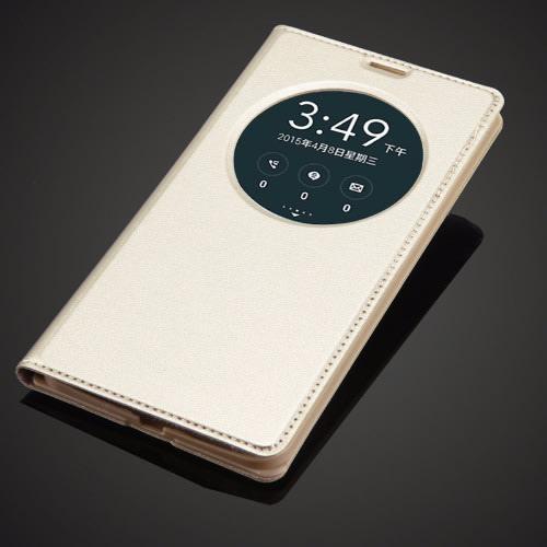 buy online 5667f c9b23 Flip Case For Asus Zenfone 5 - Gold