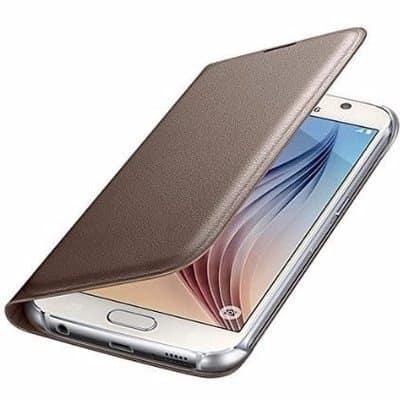 promo code e3325 6b923 Flip Case For Samsung Galaxy A5 (A520) 2017 - Gold