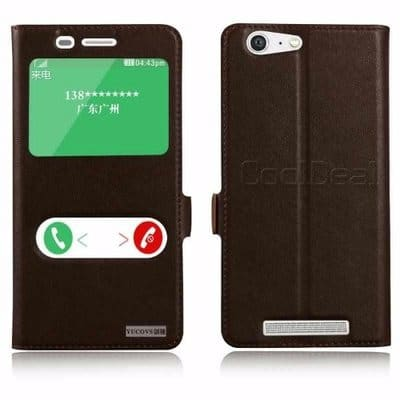 online store 58295 1aeef Flip Case for Gionee M5 - Black