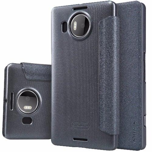 size 40 e2ea0 17138 Flip Case for Microsoft Lumia 950 XL - Black