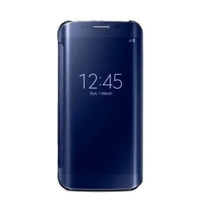 competitive price bcb15 25768 Flip Cover Case For Samsung Galaxy S6 Edge - Blue