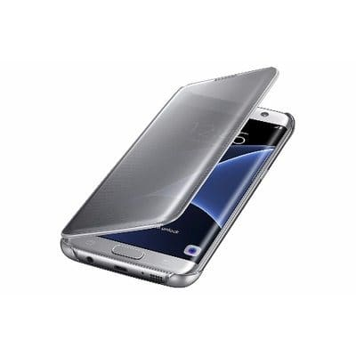 uk availability c784c 1979a Flip Cover for Samsung Galaxy S7 Edge - Silver