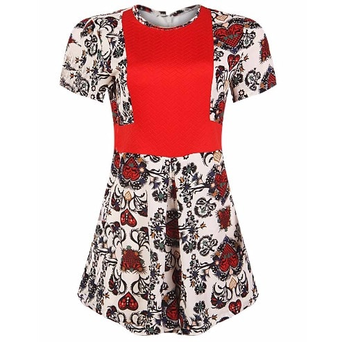 /F/l/Floral-Print-Playsuit---Red-Multicolour-7996455_1.jpg