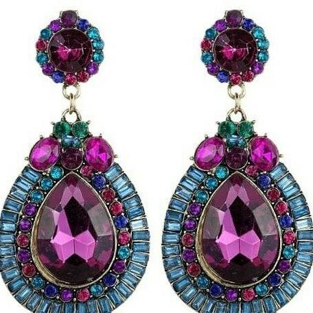 /F/l/Flower-Dangle-Waterdrop-Earrings---Multicolour-7504489_3.jpg