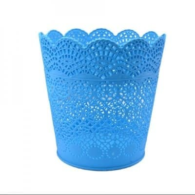 /F/l/Flower-Shaped-Rubber-Dustbin---Blue-5935202.jpg