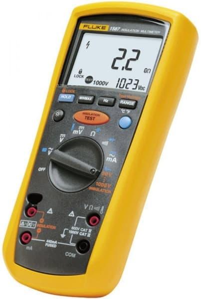Fluke 1587 Insulation Multimeter Insulation Resistance - 1000V Insulation  Test Voltage