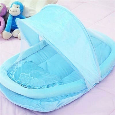 /F/o/Foldable-Mobile-Baby-Bed-with-Mosquito-Net---Blue-6893342.jpg