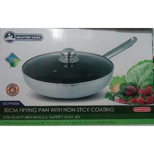 f04a59a4d76e Master Chef Frying Pan with Non-Stick Coating - 30cm   Konga Online ...
