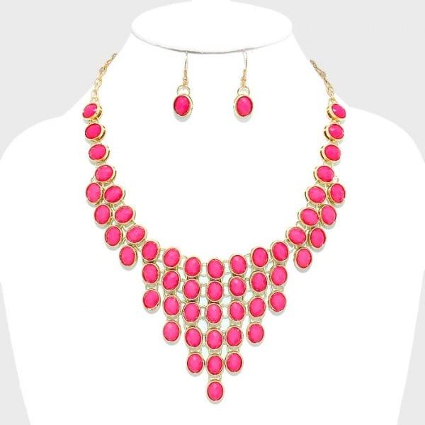 /F/u/Fuchsia-Pink-Oval-Gemstone-Cluster-Bib-Necklace-6524293.jpg