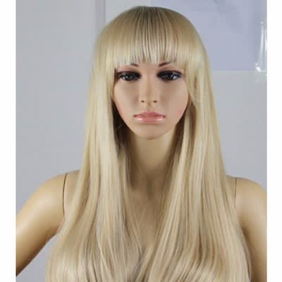 Full Fringe Blonde Wig - 18