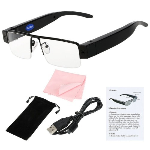 0f58553dc7 Full HD 1080P Spy Camera Eyewear Video Recorder