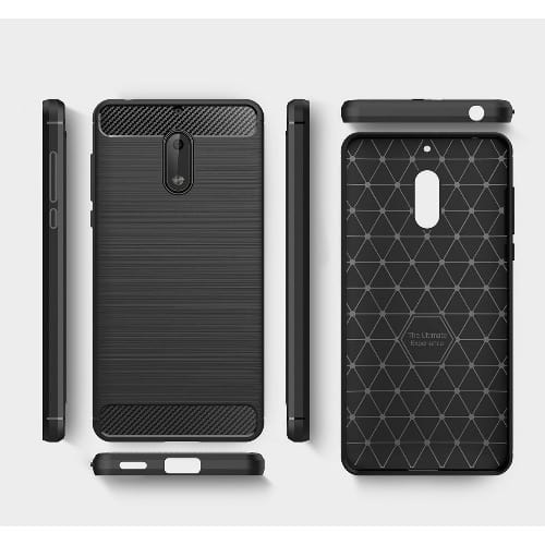 best service 1121d 049db Full-body Protective Case Cover For Nokia 3 - Black
