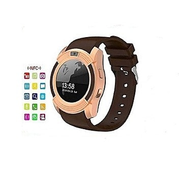 V8 Bluetooth Android Smartwatch With SIM Slot