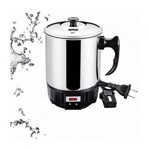Portable Travel Stainless Electric Kettle Jug.