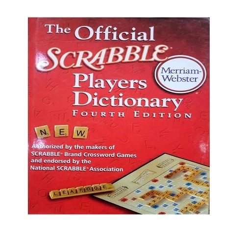 Fourth Edition Scrabble Dictionary