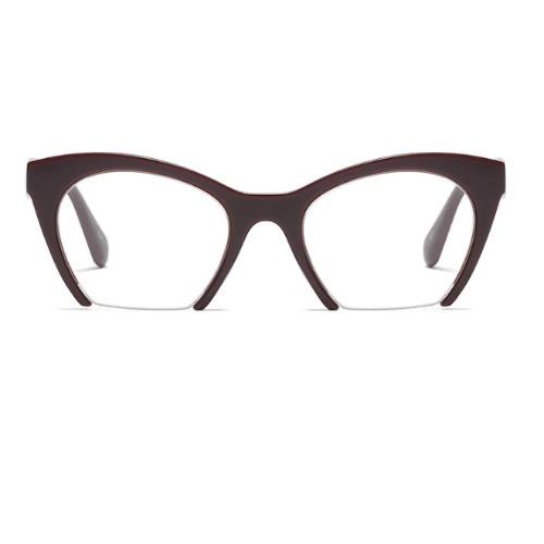 3018033c5ef Half Frame Vintage Cat Eye Glasses- B..