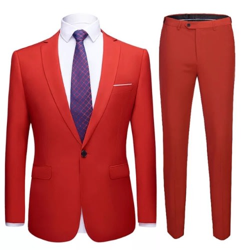 c1590f69502 Men s Classic Suit - Red