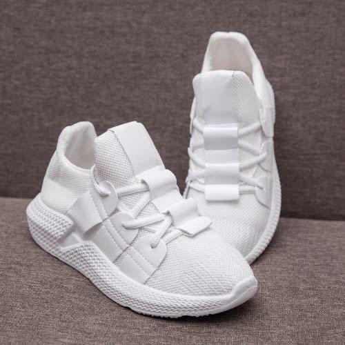 988188282c Ladies Sneakers - White