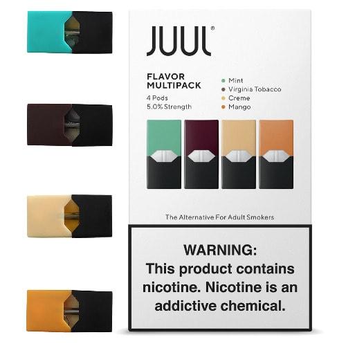 Juul 4 Pods Flavor - Multipack